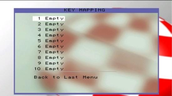Submenú Remap Keys