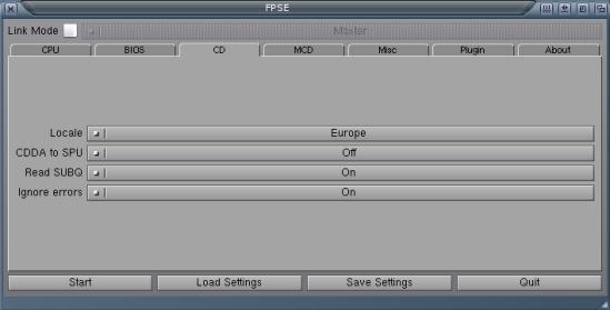 CD setting