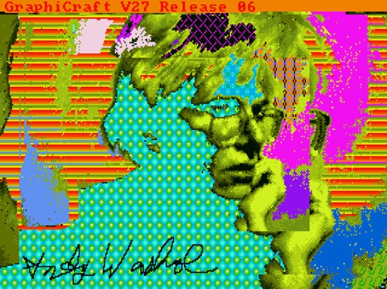 Andy Warhol Amiga 1