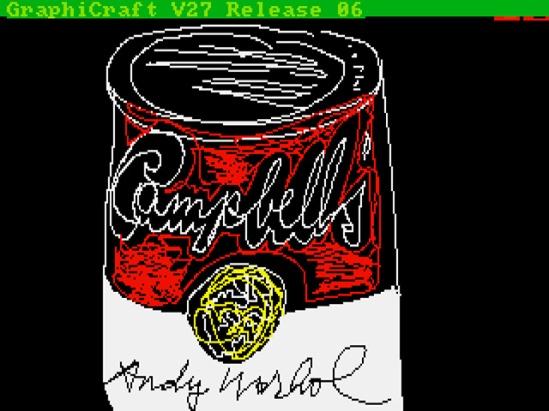 Andy Warhol Amiga 2