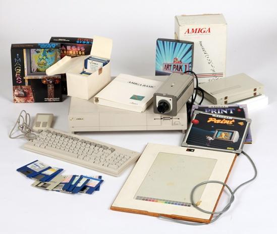Andy Warhol Amiga hardware