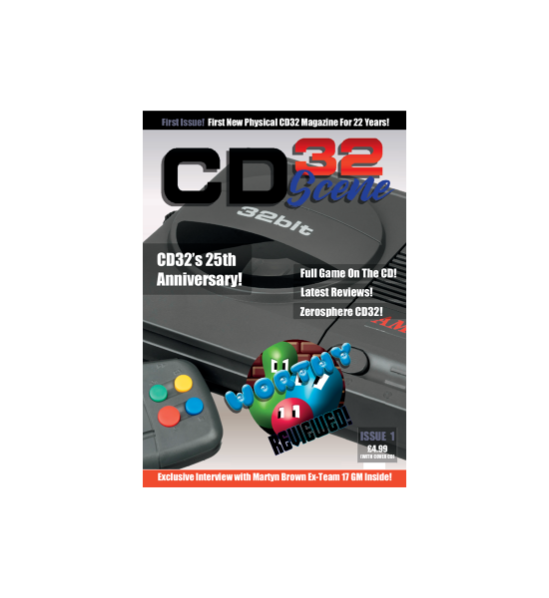 CD32 Scene Magazine: Nueva revista en papel #aMiGaTrOnIcS