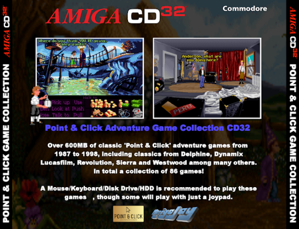 Point & Click Adventure Game Collection Back