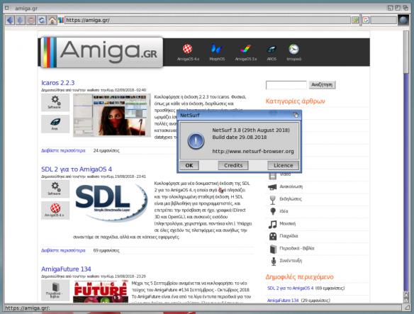 Nueva actualización para NetSurf 3.8. #aMiGaTrOnIcS