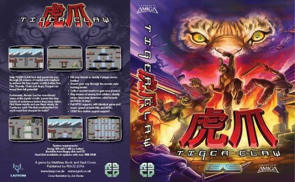 ' Tiger Claw ' un juego inspirado en el Bruce Lee de C64 disponible para Amiga #aMiGaTrOnIcS