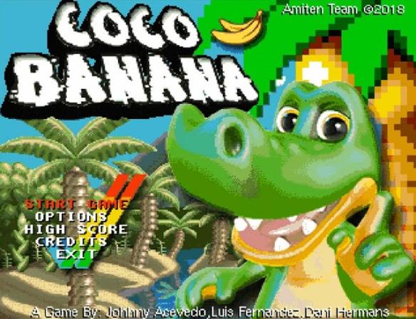 Coco Banana – Nuevo juego Amiga de Amiten Software #aMiGaTrOnIcS