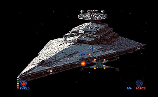 Star (Dust) Wars – Shooter inspirado en Star Wars lanza una actualización 3D para Amiga #aMiGaTrOnIcS