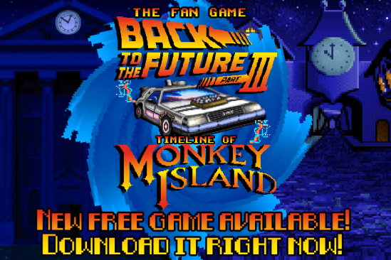 The Fan Game – Back to the Future Part III: Timeline of Monkey Island #aMiGaTrOnIcS