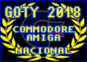 GOTY nacionales Commodore C64 / Amiga 2018 #aMiGaTrOnIcS
