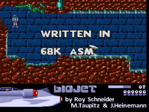 BioJet: Nuevo juego Amiga OCS #aMiGaTrOnIcS