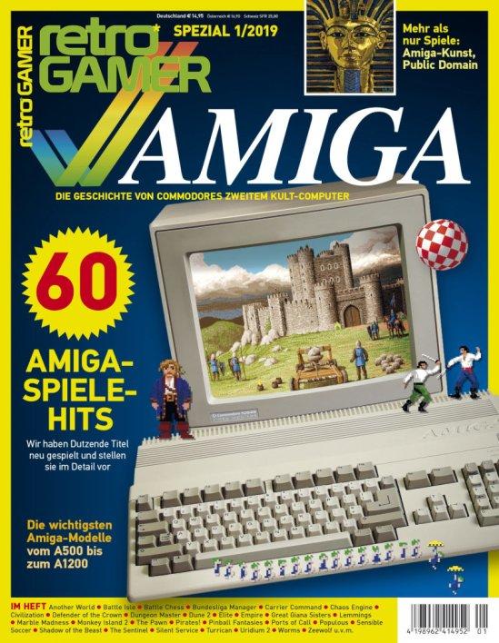 Edición especial Retro GAMER: Commodore AMIGA #aMiGaTrOnIcS