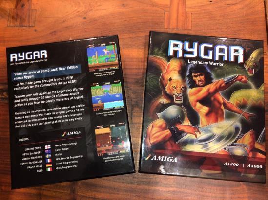 Rygar AGA. La versión final será presentada en Amiga 34 #aMiGaTrOnIcS