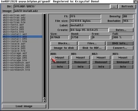 La aplicación ADF Killer para AmigaOS GoADF! 2.0.20 ya disponible #aMiGaTrOnIcS