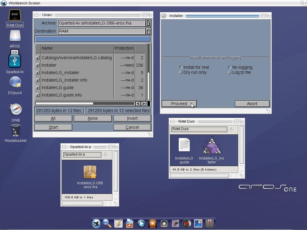 Instalador LG v0.1.0 Alpha 49 AROSx86 / MOS #aMiGaTrOnIcS