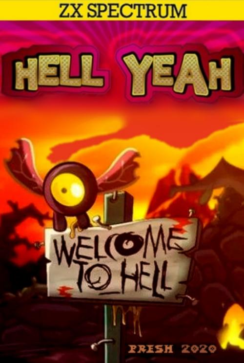 ¡Dios mio, esto es un infierno! Hell Yeah! nuevo juego ZX Spectrum #aMiGaTrOnIcS