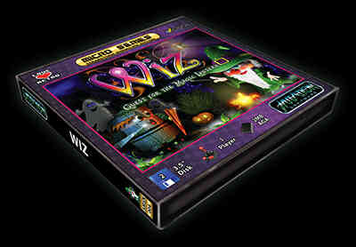 Wiz – Quest for the Magic Lantern: finalizado #aMiGaTrOnIcS