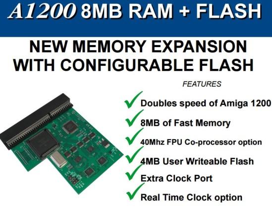 Nueva expansión FastRam con Flash A1200 #aMiGaTrOnIcS