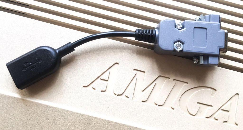 Usa cualquier mouse USB con cable o inalámbrico con tinkerBOY para Amiga #aMiGaTrOnIcS