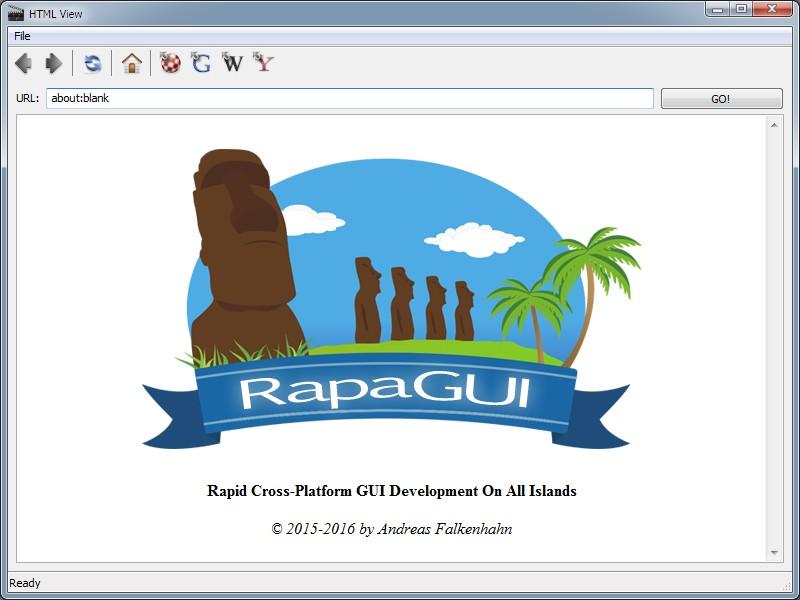 RapaGUI 2.0 Multiplataforma #aMiGaTrOnIcS